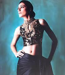 indian designer sari