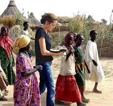 angelina jolie humanitarian work
