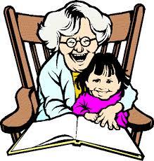 grandma drawing