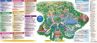 disney parks maps