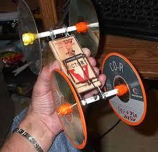 mouse trap car wheels