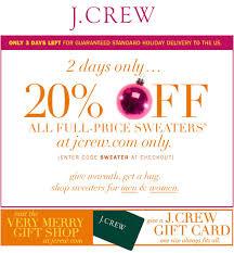 jcrew coupons