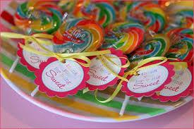 pink swirl lollipops