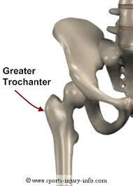 greater trochanter of the femur