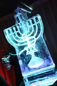 ice luge stand