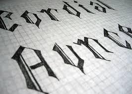 blackletter typeface