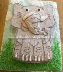 elephant shaped cake