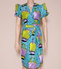 african wrap dresses