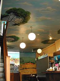 ceiling painting designs