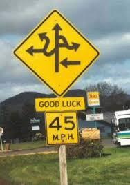 street signs photos