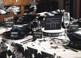 hollywood party centerpieces