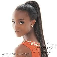 black hair ponytail styles