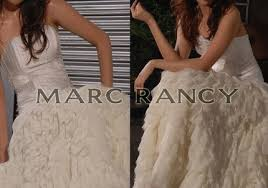 handmade wedding gown