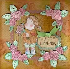 rose birthday cards
