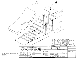mini quarter pipe plans