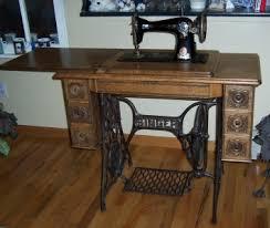 antique sewing machine singer