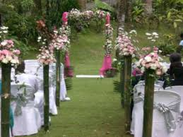 bamboo wedding decorations