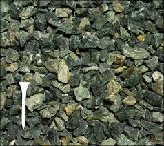 crushed blue stone