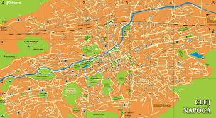 harta orasului cluj napoca