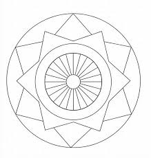 geometric patterns coloring pages