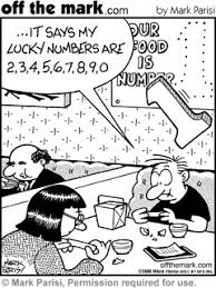 fortune cookie lucky numbers