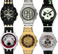 007 villain collection by swatch