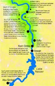 nile cruise map