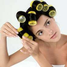 how to apply hot rollers