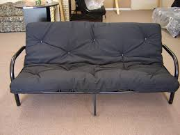 black metal futons