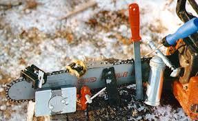 chain saw sharpen