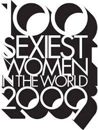 100 sexiest women in the world 2009