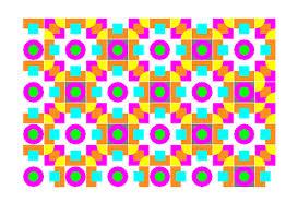 figuras de colores