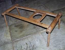 antique baby walker