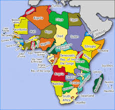 pictures of maps of africa