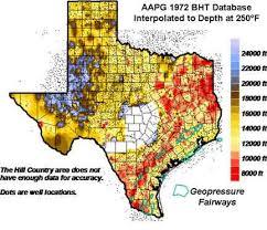west texas maps