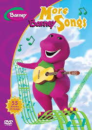 more barney song