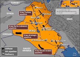 iraq pipelines