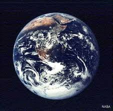earth from space images