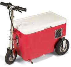 beer cooler scooter