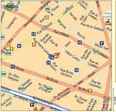 french street map