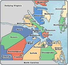 hampton roads va map
