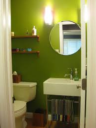 bathroom green