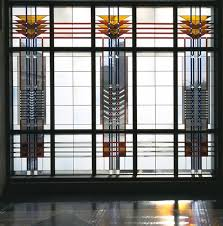 frank lloyd wright stain glass