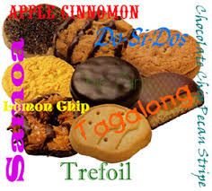 girl scout cookies pictures