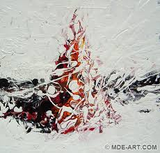 abstract art acrylic