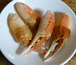 cooked crab claw