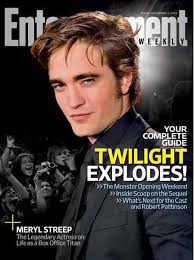 entertainment magazine cover