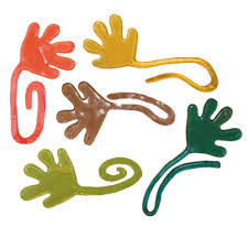 sticky hands toy