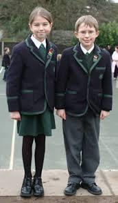green school blazer