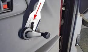 car window handle